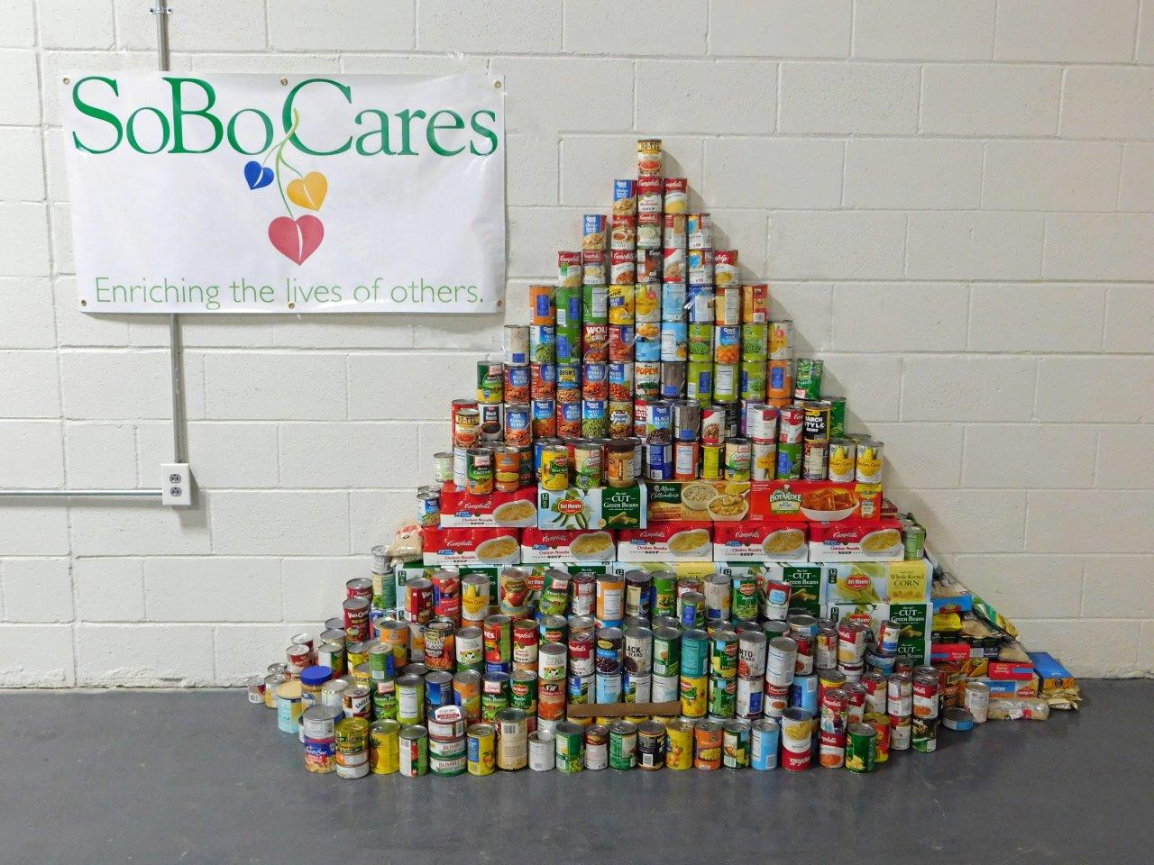 food drive | SoBo Cares | Dallas Landscaping Services Company