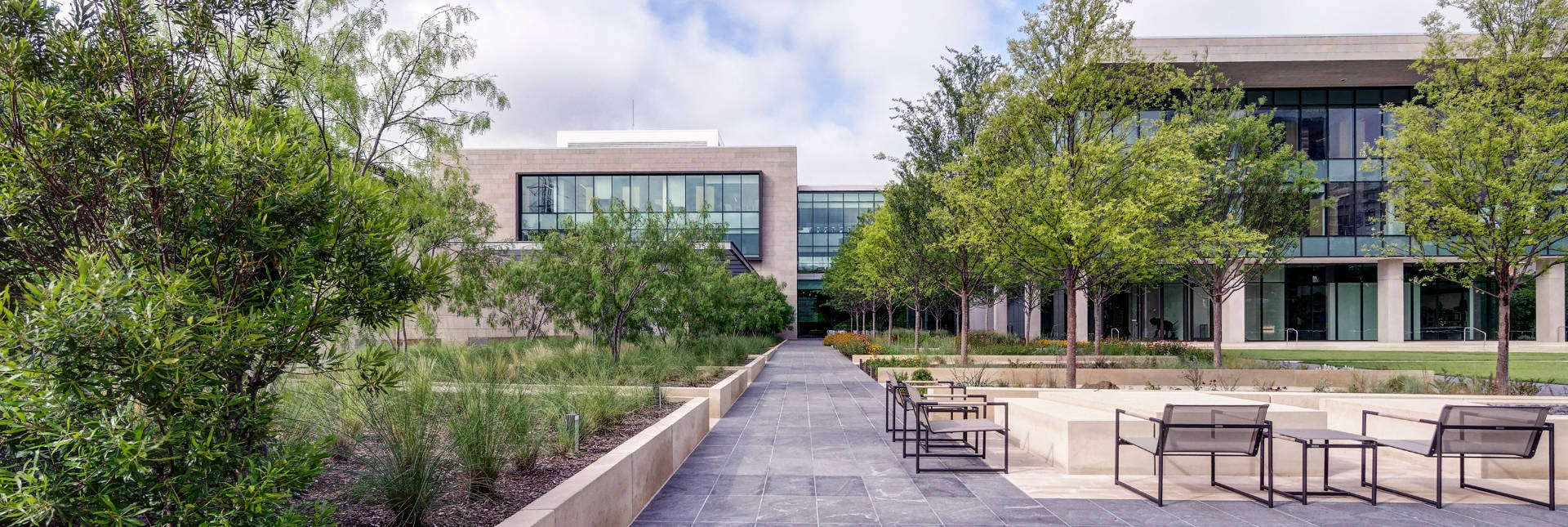 Turtle Creek Office | Dallas Commercial Landscaping Services by Southern Botanical