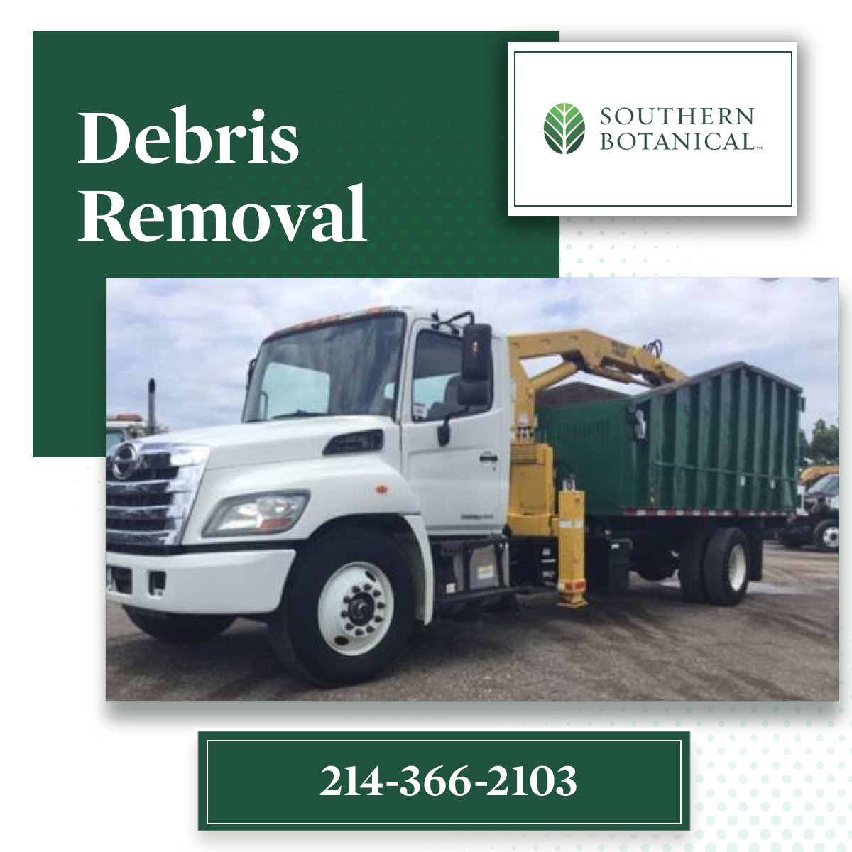 Professional Storm Cleanup Services | Debris Removal | Dallas Tree Care Services